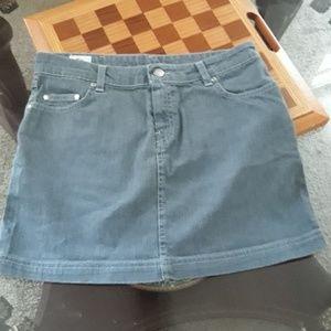 Lacoste gray skirt